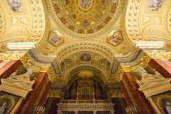 Saint Stephen's Basilica, Budapest, Hungary Stock Image