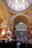 Saint Stephen s Basilica, Budapest, Hungary Royalty Free Stock Photo