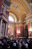 Saint Stephen s Basilica, Budapest, Hungary Royalty Free Stock Images