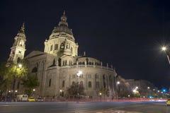 Saint Stephen's Basilica Budapest Stock Photo