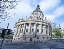Saint Stephen's Basilica Budapest Stock Image