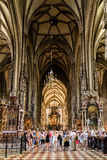 Saint Stephen's Cathedral (Stephansdom) In Vienna Stock Image