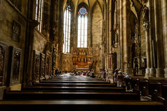 Saint Stephen's Cathedral (Stephansdom) In Vienna Royalty Free Stock Photography