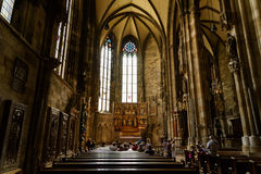 Saint Stephen's Cathedral (Stephansdom) In Vienna Stock Photo