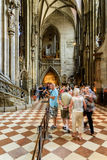 Saint Stephen's Cathedral (Stephansdom) In Vienna Royalty Free Stock Image