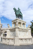 Saint Stephen's Statue in Budapest Royalty Free Stock Images