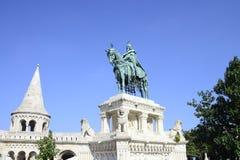 Saint Stephen Statue Stock Image