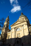 Saint Stephens cathedral in Budapest Stock Image