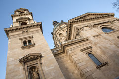 Saint Stephens cathedral in Budapest Royalty Free Stock Image