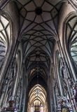 Saint Stephens Cathedral interior, Vienna Stock Photography