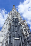 Saint Stephens Cathedral Vienna Southtower Photo stock