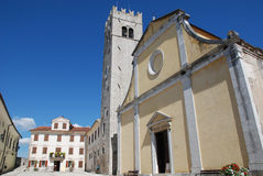 Saint Stephens Church in Motovun Stock Images