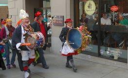 Saint Stupid's Parade. The Annual Saint Stupid's Parade in San Francisco Royalty Free Stock Photo