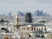 Saint Sulpice Church Paris Stock Photo