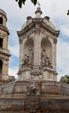 Saint Sulpice Fountain Paris Stock Photo