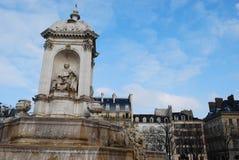 Saint Sulpice fountain, Paris Stock Image