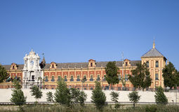 Saint Telmo Palace, Seville Stock Photo