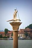 Saint Teodoro statue Stock Images