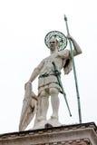 Saint Theodore column in Venice Stock Photos