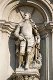 Saint Theodore and Dragon Statue Stock Image