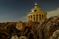 Saint Theodoroi Lighthouse, Greece Stock Image