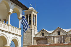 Saint Theodoros Cathedral and Holy Bishopric of Pafos, Cyprus Royalty Free Stock Photo