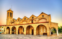 Saint Theodoros Cathedral in Paphos Royalty Free Stock Image