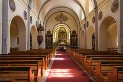 Saint Theodul of Gruyeres Stock Photo