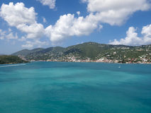 Saint Thomas Bay Photographie stock