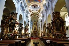 Saint Thomas Church (Czech: Kostel svatého Tomáše) is an Augustinian church in Malá Strana, Prague, Czech Republic Royalty Free Stock Image