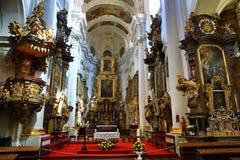 Saint Thomas Church (Czech: Kostel svatého Tomáše) is an Augustinian church in Malá Strana, Prague, Czech Republic. A Picture of the Stock Photo