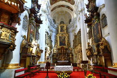 Saint Thomas Church (Czech: Kostel svatého Tomáše) is an Augustinian church in Malá Strana, Prague, Czech Republic Royalty Free Stock Images