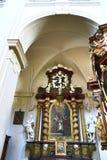 Saint Thomas Church (Czech: Kostel svatého Tomáše) is an Augustinian church in Malá Strana, Prague, Czech Republic Royalty Free Stock Photos