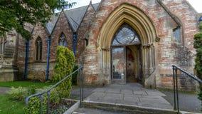 Saint Thomas Church Entrance image libre de droits