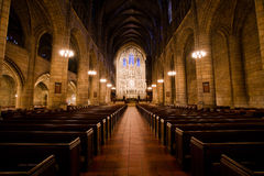Saint Thomas Church on Fifth Avenue, New York Royalty Free Stock Photo