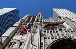 Saint Thomas Church, located at the borough of Manhattan, New Yo Stock Image