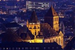 Saint Thomas Church in Strasbourg Stock Photos