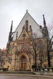 Saint Thomas Church (Thomaskirche). Royalty Free Stock Images
