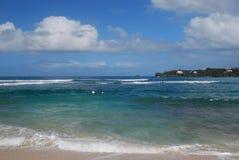 Saint Thomas ocean front Stock Photos