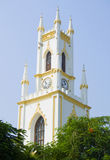 Saint Thomas's cathedral sight of Mumbai Royalty Free Stock Image