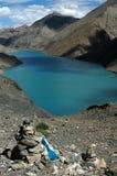 The saint Tibetan lake Stock Image