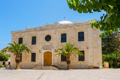 Saint Titos church. Heraklion, Crete Royalty Free Stock Photo