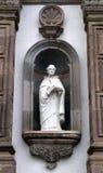 Saint Tomas de Aquino sculpture Stock Photo