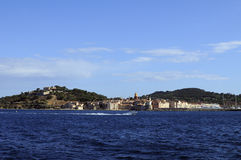 Saint Tropez. The village of Saint Tropez in the French riviera in Summer royalty free stock photo