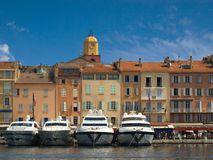 Saint Tropez. royalty free stock photography