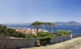 Saint Tropez. The beautiful town of Saint Tropez, France stock photos
