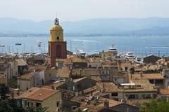 Saint Tropez. Beautiful landscape of Saint Tropez - French Riviera royalty free stock photos