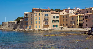 Saint Tropez - Architecture of city Royalty Free Stock Photography