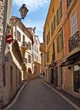 Saint Tropez arkitektur av staden Arkivbild