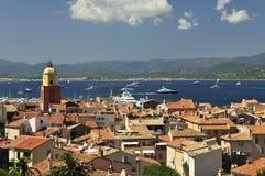 Saint Tropez. City centre of Saint Tropez in Provence - France stock images